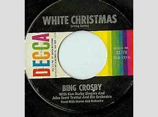 bing crosby christmas songs