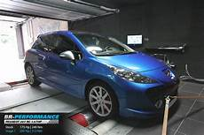 peugeot 207 rc 1 6 thp stage 1 br performance motor