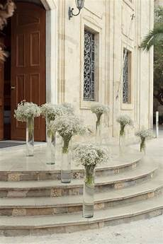 use wine bottles instead lining the path to reception s k church wedding decorations