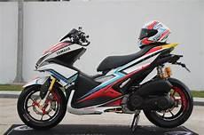 Aerox 155 Modif by Ganteng Maksimal Yamaha Aerox 155 Modif Abis Jadi Naik
