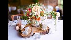 easy diy ideas for rustic wedding decorations youtube