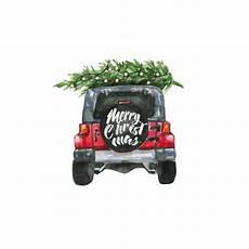 merry christmas jeep transfer pre cut heat transfer decal vinyl printcess