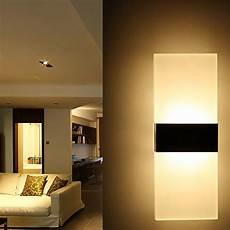 3w modern aluminum led wall light bathroom indoor sconce path way garden l in led indoor wall