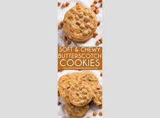 easy butterscotch chip chocolate cookies_image