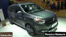 All New 2018 Dacia Lodgy Interior And Exterior Revealed At