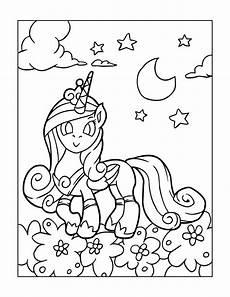 Unicorn Malvorlagen Free Free Unicorns Coloring Page For Beautiful