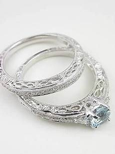 vintage style wedding ring with infinity motif rg 2814wbal wedding rings vintage vintage
