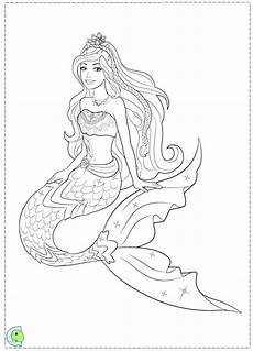 mermaid coloring pages easy at getcolorings free