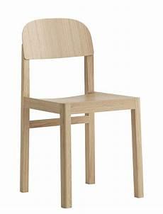 chaise workshop muuto bois naturel made in design