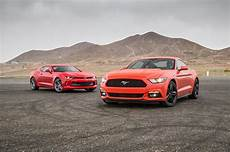 comparison 2016 chevrolet camaro rs 2016 ford mustang