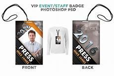 vip name card template modern event vip badge card templates creative market