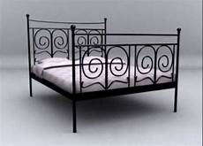 Ikea Black King Size Black Iron Bed Frame In Northton
