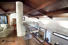 ringhiera in vetro glass banister for interior staircases by marretti glass