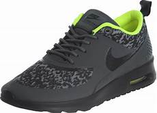 nike air max thea print w shoes grey yellow neon
