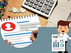 individual tax filing these are what you must include and exclude during individual income tax filing a full