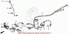 87 honda atv 250 wiring schematic honda trx250x fourtrax 250x 1991 m usa wire harness buy wire harness spares