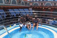 brunch pool party bahamas carnival cruise