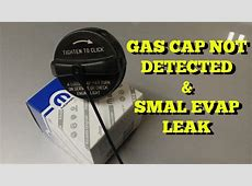Gas Cap Check Engine Light and Small Evap Leak Fix   YouTube