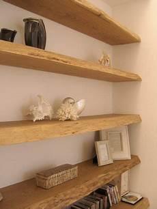 mensole e librerie mensole libreria muro tavole di recupero in rovere