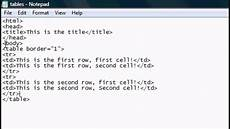 html tutorial 4 html website tables layouts tutorial youtube