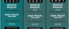 vehicle repair manual 2001 dodge ram van 1500 interior lighting new 2001 dodge ram truck service manual gas diesel 1500 2500 3500 repair shop