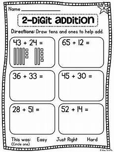 2nd grade math worksheet base ten grade math unit 13 for 2 digit addition and
