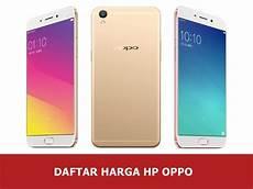 Daftar Harga Hp Oppo Smartphone Baru Dan Bekas Update