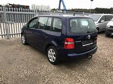 lhd centre stock vw touran 1 6 fsi automatic 7 seater