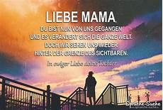 Abschied Der Mutter - liebe du bist uns gegangen abschiedsspr 252 che