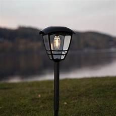 solar leuchten led solarleuchte felix in schwarz 450 mm best season