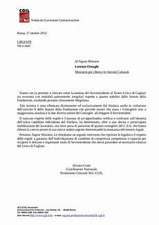lettere al sindaco lavoratoriscalacgil lettera al ministro su nomina sovr