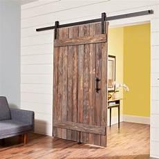 diy barn door how to build a simple rustic barn door the family handyman