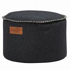 sitzhocker rund sackit sitzhocker rund retroit cobana drum black in und