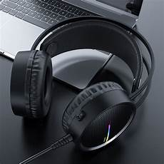 Hoco W100 Portable Wired Gaming Headphone by Hoco W100 Portable Wired Gaming Headphone Ear Stereo