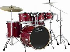 Pearl Export Exl 6 Shell Pack With Snare Drum
