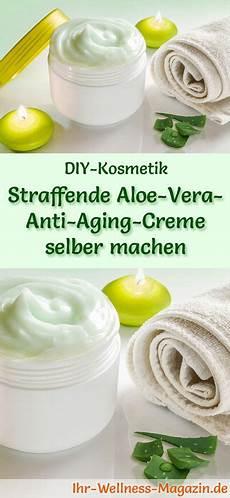Straffende Aloe Vera Anti Aging Creme Selber Machen