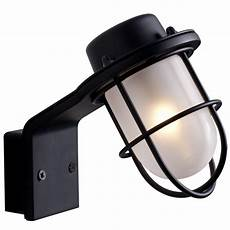 marine styled wall light polished chrome or black