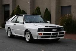 One Of 224 1985 Audi Sport Quattro SWB  Bring A Trailer