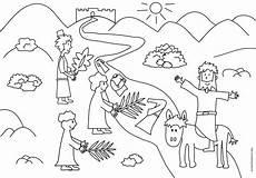 Ausmalbilder Ostern Jesus Stickbild Ausmalbild Zu Palmsonntag Oder Ostern