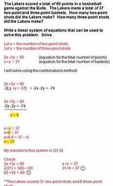 system of equations word problems worksheet algebra 1 answers tessshebaylo
