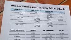 Tarifs Postaux 2017 2018 L Affranchissement La Poste En 1