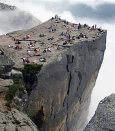 Preikestolen Cliff In Born For Adventure