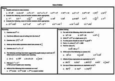 rules of indices problem solving mastery worksheet teaching resources