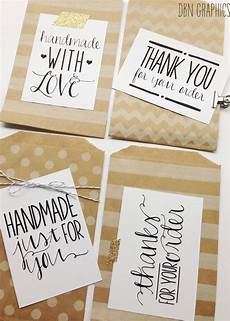instant labels for handmade sellers handmade