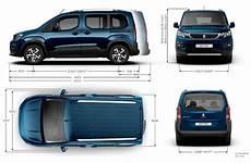 Peugeot Rifter Dimensions Ext 233 Rieures Et Int 233 Rieures
