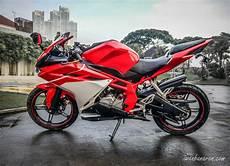 Modifikasi Vixion 2018 by Ketika Yamaha New Vixion 2014 Menjadi Honda Cbr250rr Rapi