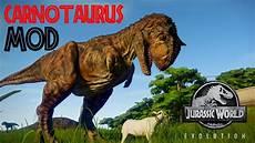 Jurassic World Malvorlagen Mod Mods In Jurassic World Evolution Carnotaurus Mod Showcase
