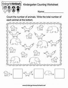 counting numbers preschool worksheets 8026 free printable kindergarten counting worksheet