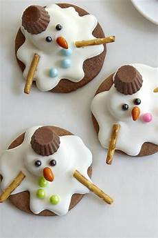 melted snowman cookies recipe cookies