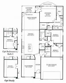 2200 square foot house plans 2200 sq ft newland communities flex room house floor